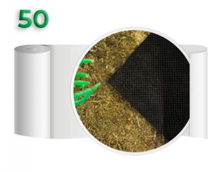 Агроволокно 50 Черное (1,6x100м)