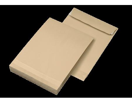 Конверт С4 (0+0) с отрывной лентой с расширением (250 шт. в уп.) 229 х 324 мм