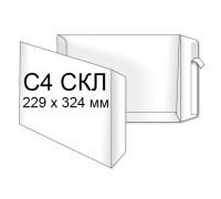 Конверт Пакет С4 (0+0) СКЛ (250 шт. в уп.)