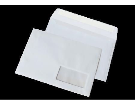 Почтовый конверт С5 (0+0) окно СКЛ (500 шт. в уп.)