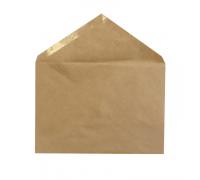 Конверт С5(162*229мм) крафт треугольный клапан