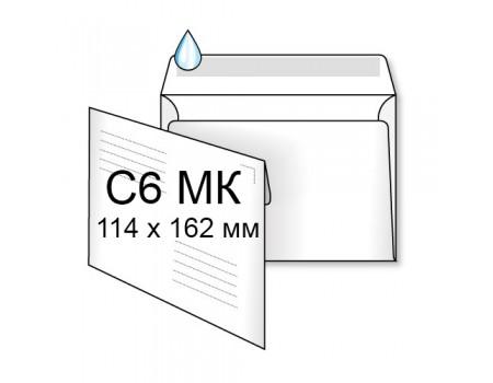 Почтовый конверт С6 (1+0) МК (1000 шт. в уп.)